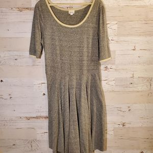 LuLaRoe comfy gray dress